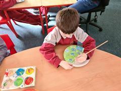 Múinteoir John's Class: Space week in the Yellow Corridor