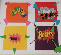Múinteoir Fiona's 6th Class: Space Week & Art