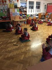 Yoga in 2nd Class