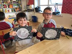 Space Week in 2nd Class