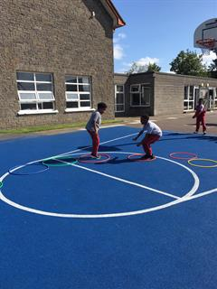 Keeping Active in 2nd Class