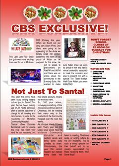 CBS Exclusive: Christmas Edition 2020