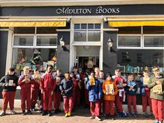 5th Class Library Visit