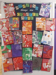 Autism Inspired Art: 6th Class