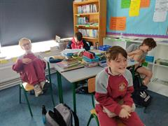 Hysterical History in 5th Class