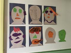 Self Portraits in M.John's Class