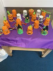 Halloween Art: M.Amy's Class